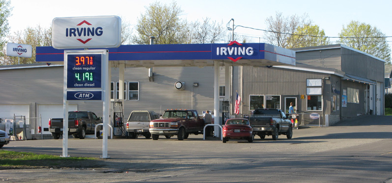 Photo of Irving station in Maine from A.E. Robinson store website 8d511088d0bd