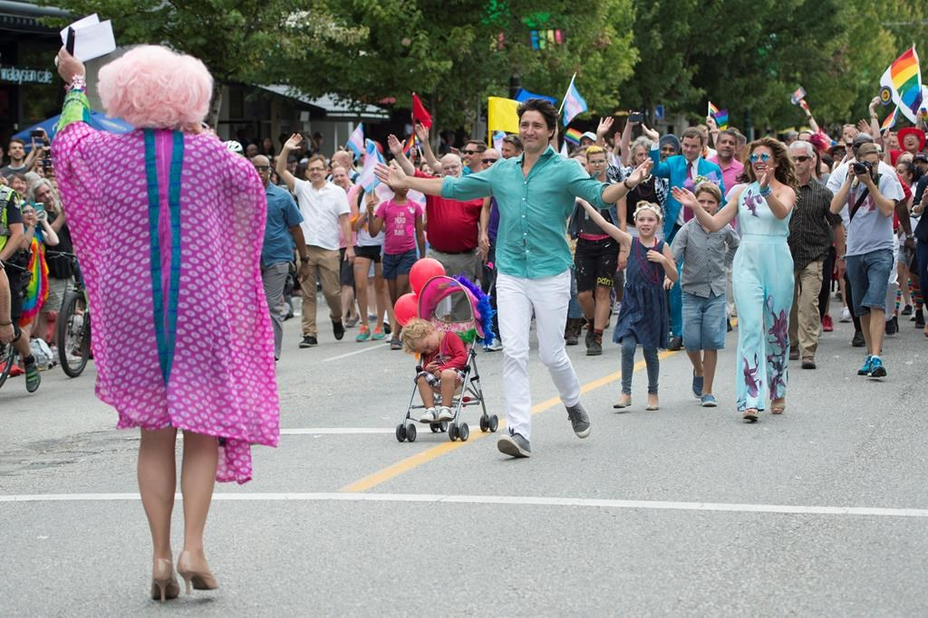 Trudeau becomes first sitting PM to march in Halifax Pride