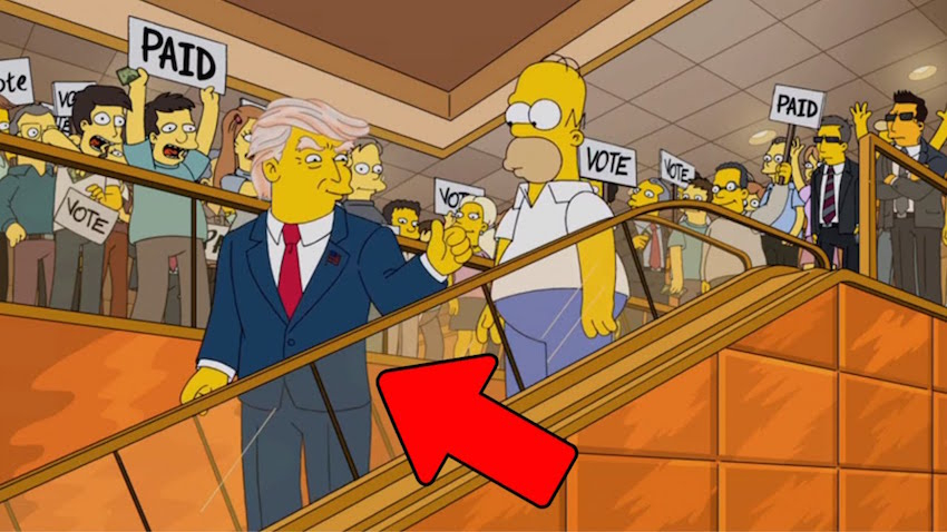 How will Homer Simpson vote?