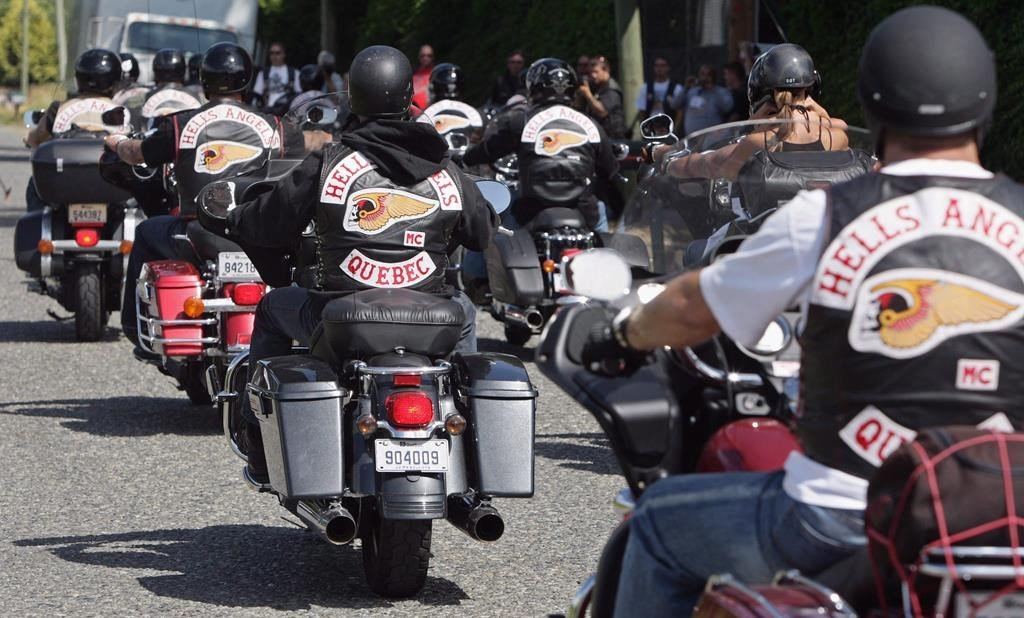 Little violence' as Hells Angels make their return to the