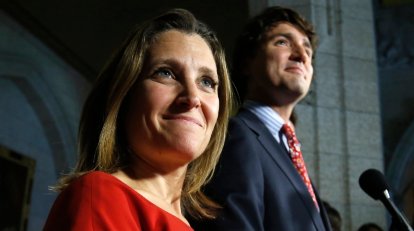 Chrystia Freeland to become foreign minister says the CBC