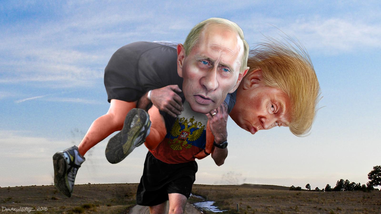 TRUMP'S ILL-GOTTEN VICTORY: Intel dossier says Putin helped