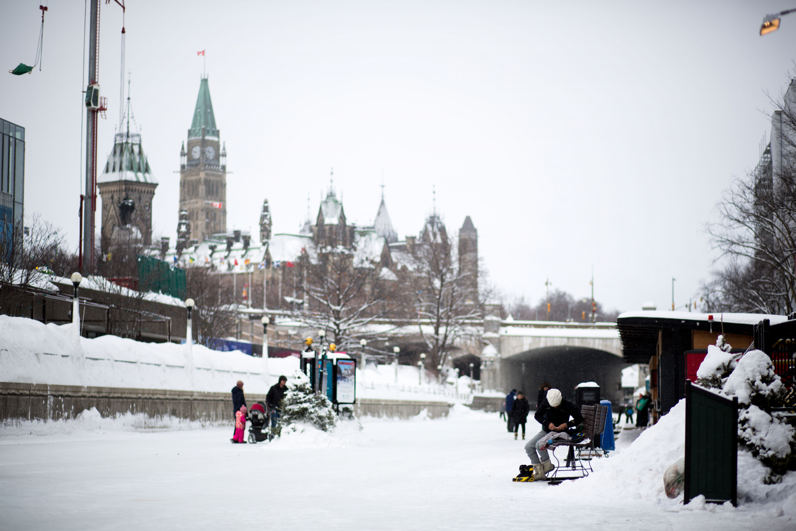 After getting buried in snow, Ottawa celebrates Winterlude in style ...