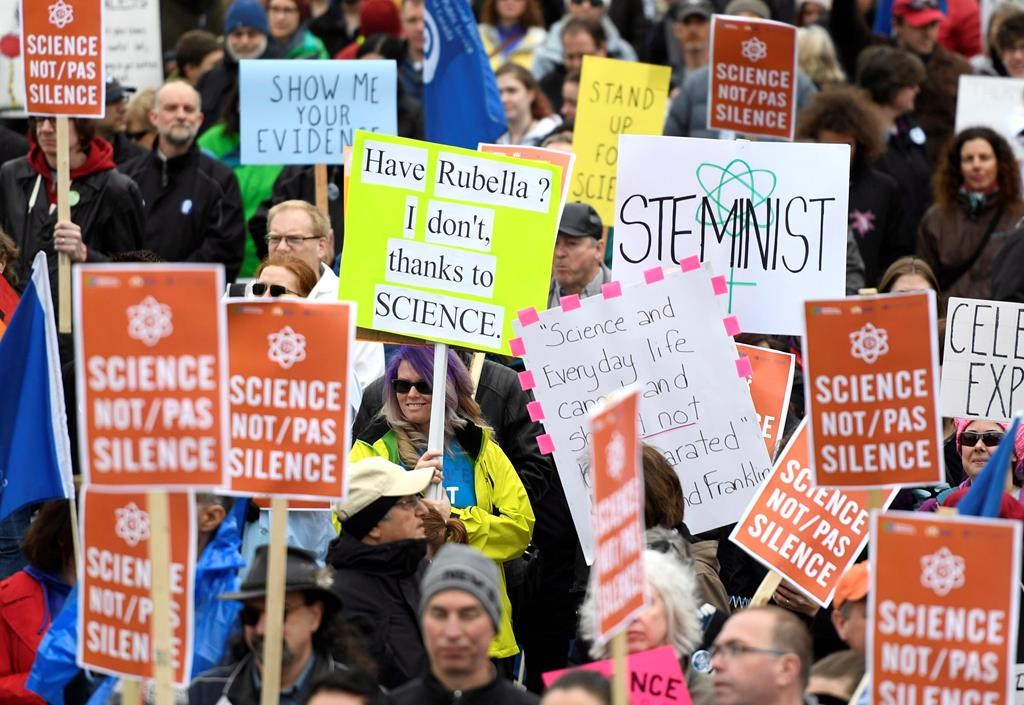 'Science Not Silence': The Signs of the March for Science