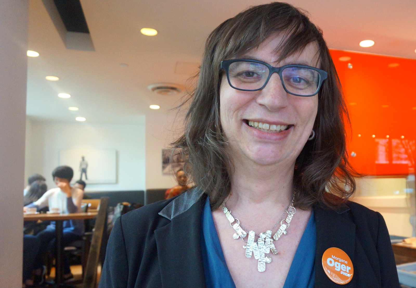 bc ndp s morgane oger on public education and why she traded male