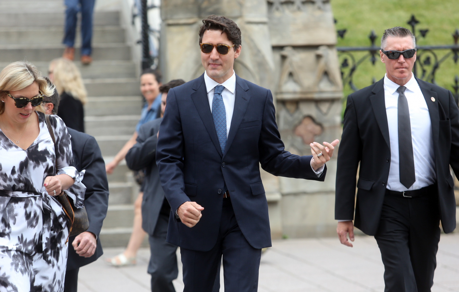 Trudeau says cannabis will become legal 'next summer,' not July 1