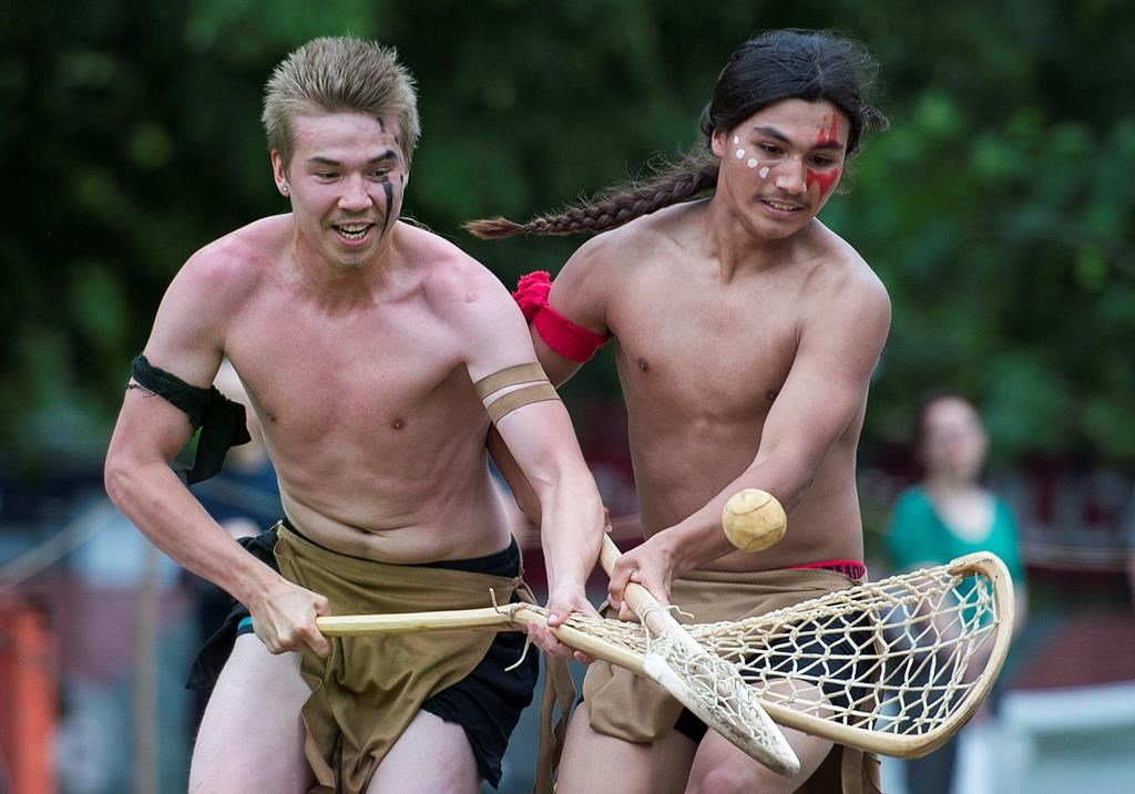 Canadian Lacrosse S First Nations Origins Celebrated As