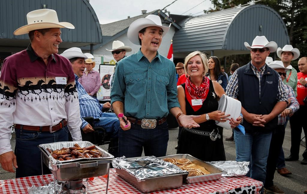Trudeau Serves Up Pancakes Takes In Rodeo On Whirlwind