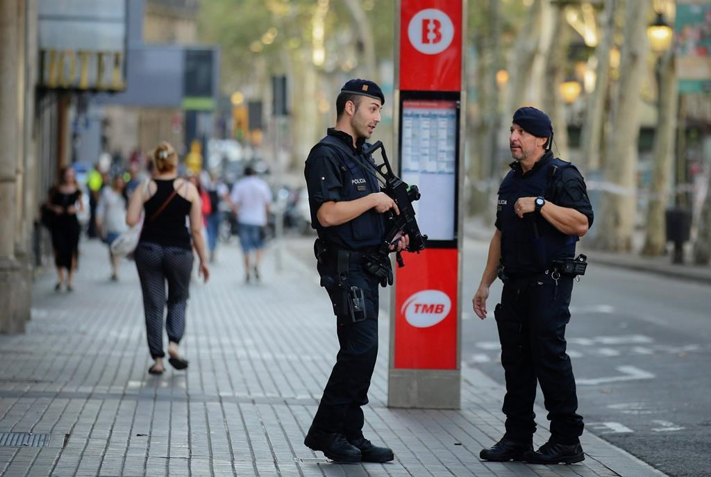 British child missing after Barcelona terror attack - Theresa May