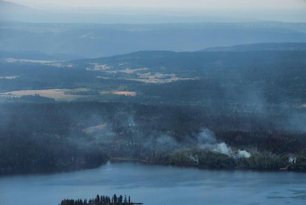 BC wildfire emergency extended to September 1