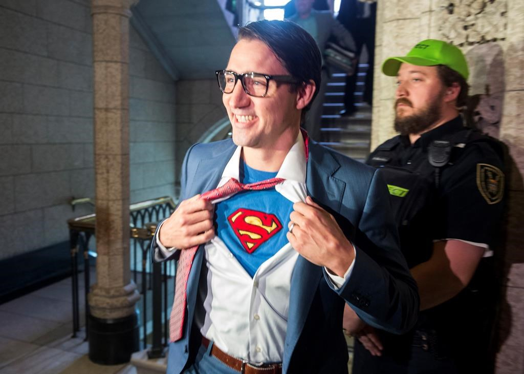 Clark Kent shows up for House duty as Trudeau shows off latest Halloween costume  sc 1 st  National Observer & Clark Kent shows up for House duty as Trudeau shows off latest ...