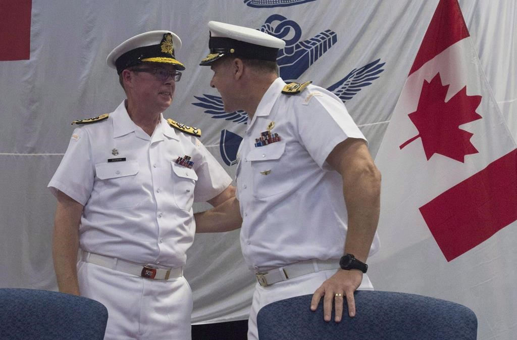 Mounties charge suspended Vice-Admiral Mark Norman with
