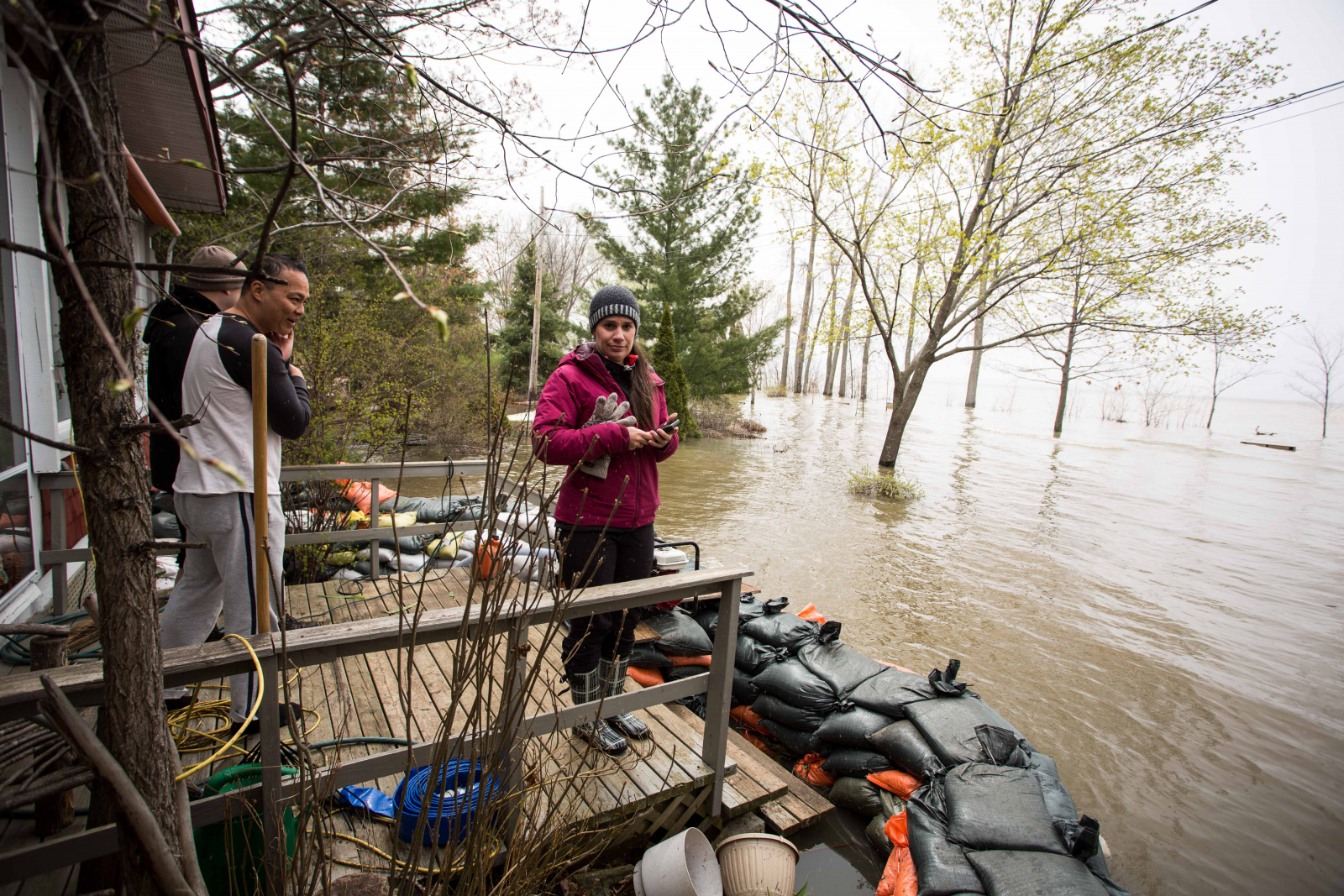 Water Flowing Out Of Lake Ontario Hit Record High Last Month