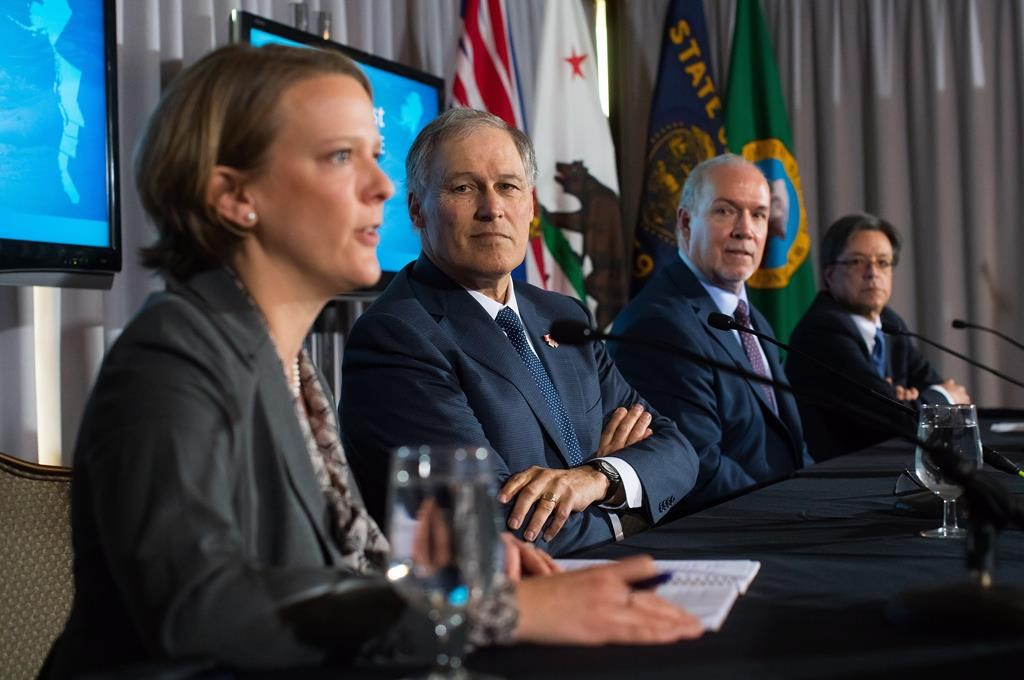 Washington governor, BC premier in Vancouver to talk trains