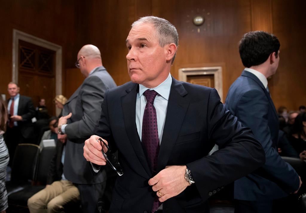 EPA broke spending law on Pruitt phone booth: government watchdog