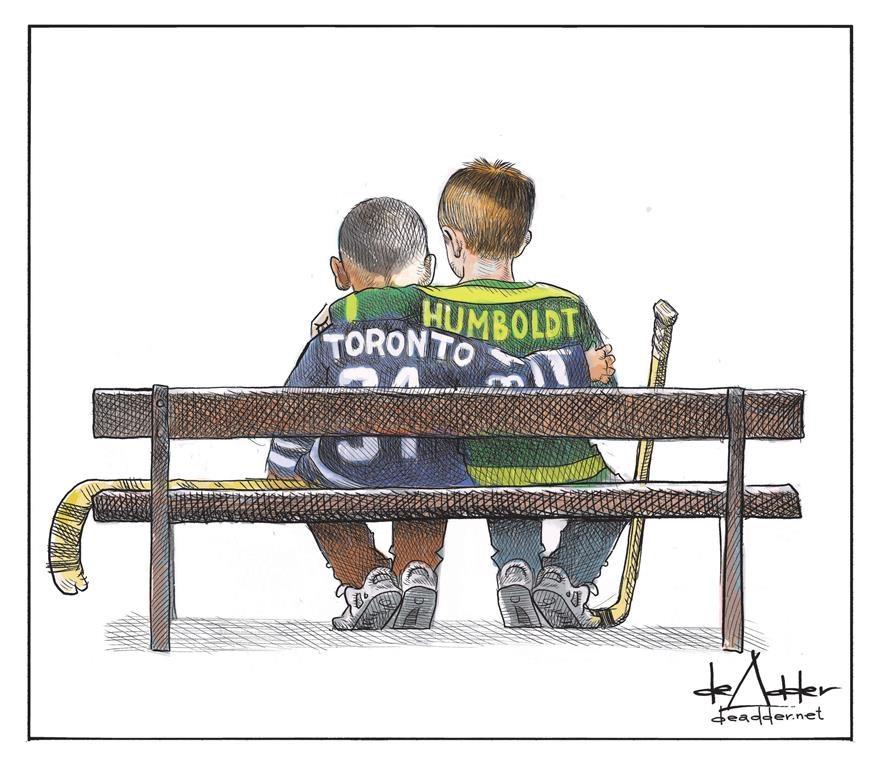 Halifax cartoonists capture public mood following Toronto