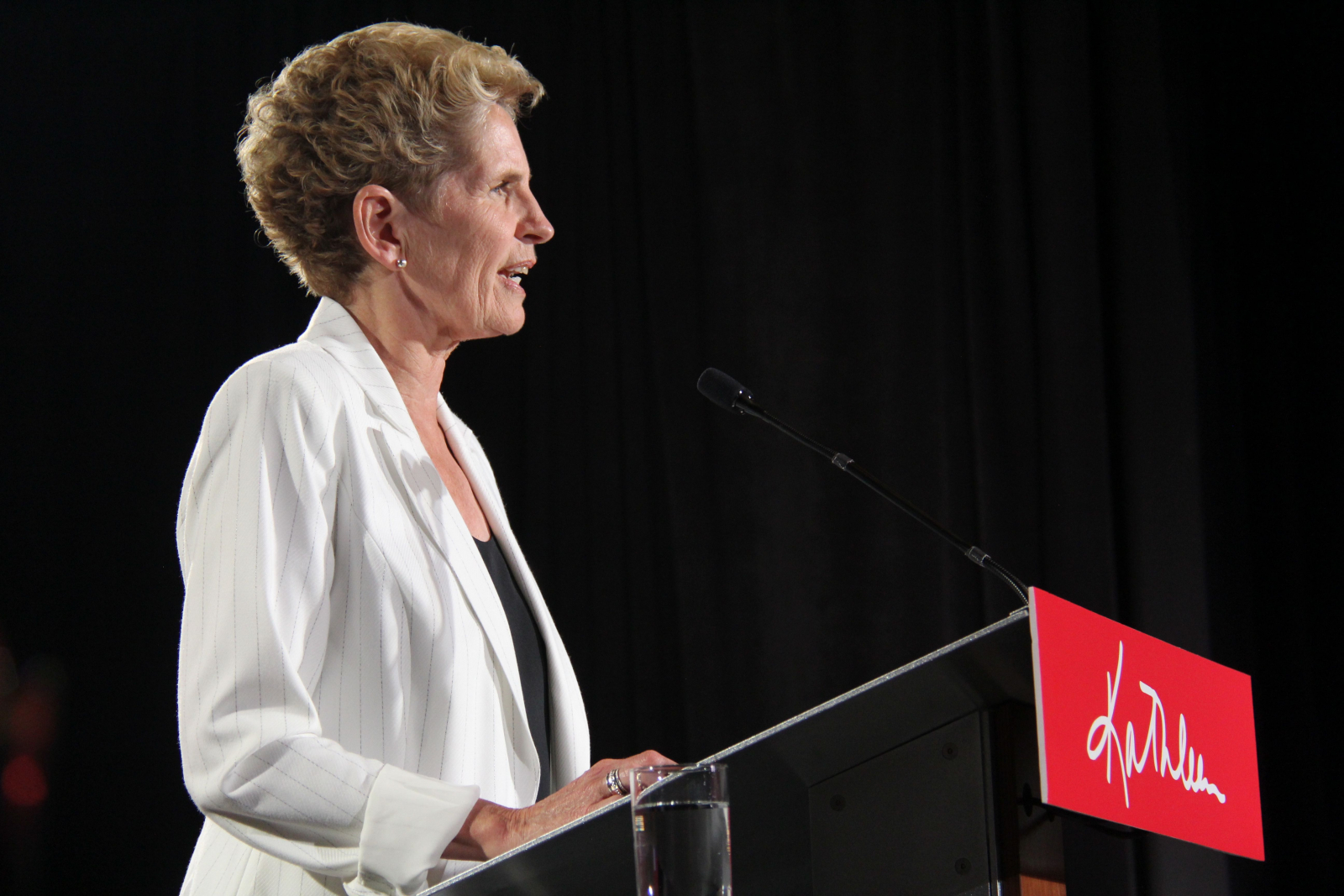 Kathleen Wynne ready to 'pass the torch,' quits as Ontario Liberal leader