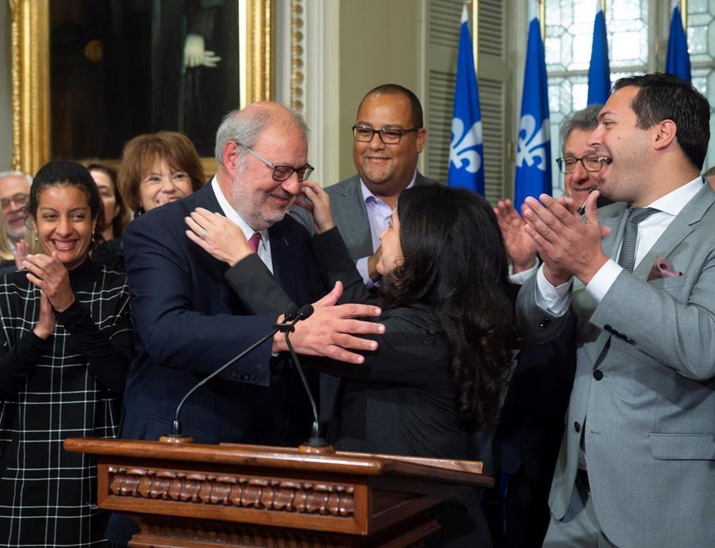 quebec liberals name longtime member pierre arcand interim leader
