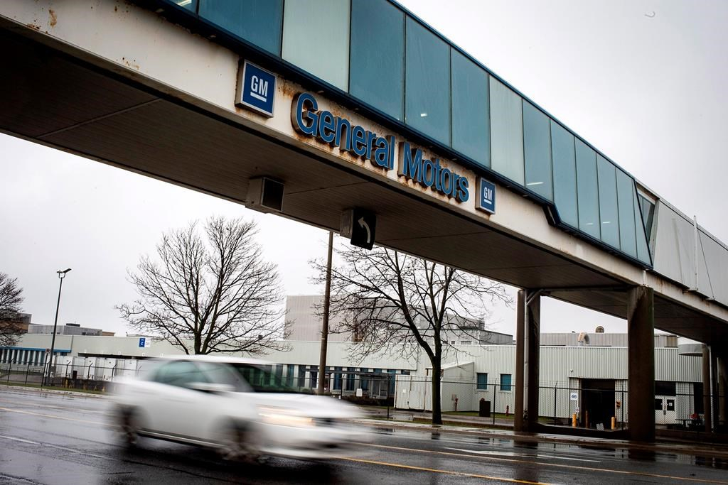 TV report: General Motors plans to close Canadian assembly plant