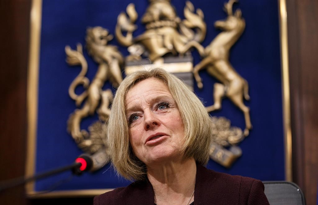 Alberta premier announces 8.7 per cent oil production cut to increase prices