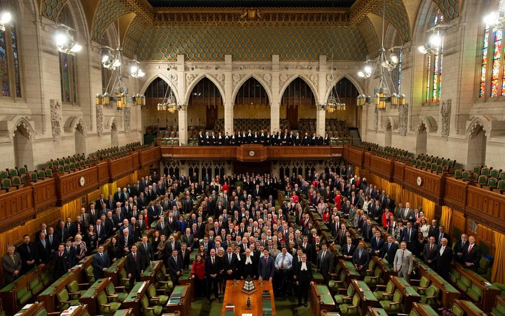 MPs bid farewell to their Parliamentary home for at least 10