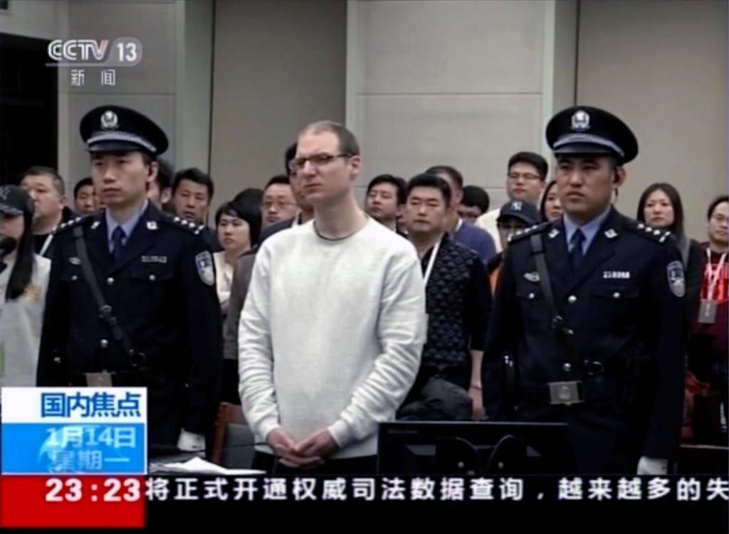 U S , European diplomats support Canada in Chinese court in