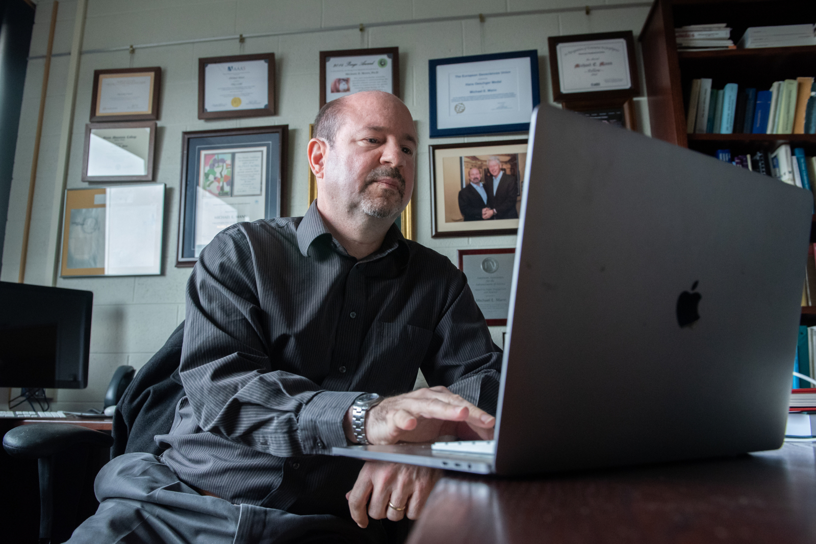 Michael E. Mann took climate change deniers to court. They apologized.