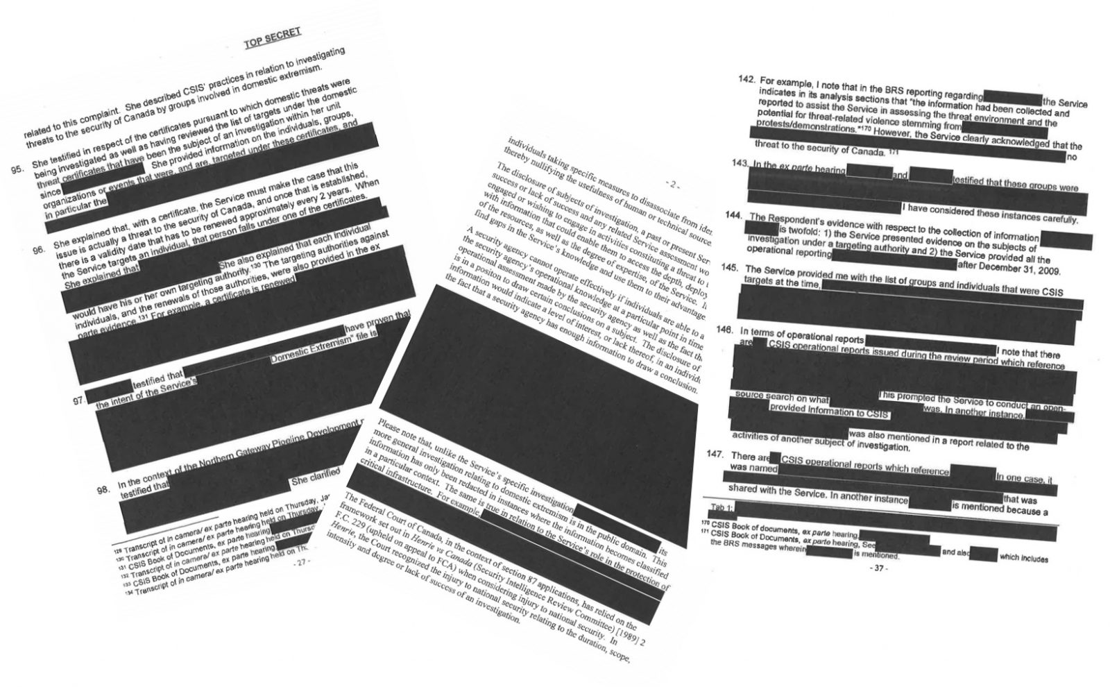 Protest Papers' provide rare look inside state surveillance