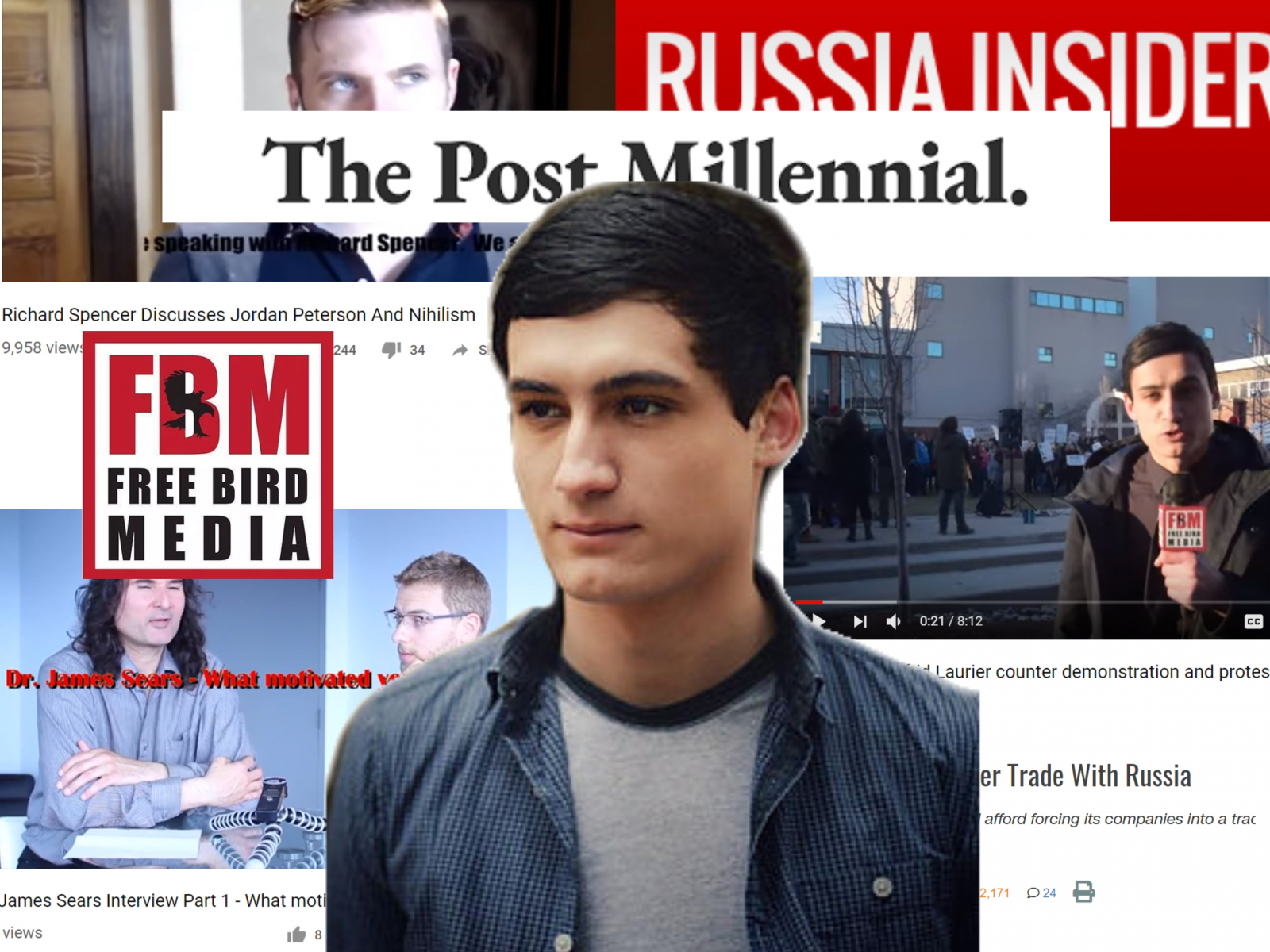 Canada's National Whining Observer: He used to work for a site that promoted racists — now he edits a Canadian news outlet Cosmin_collage_