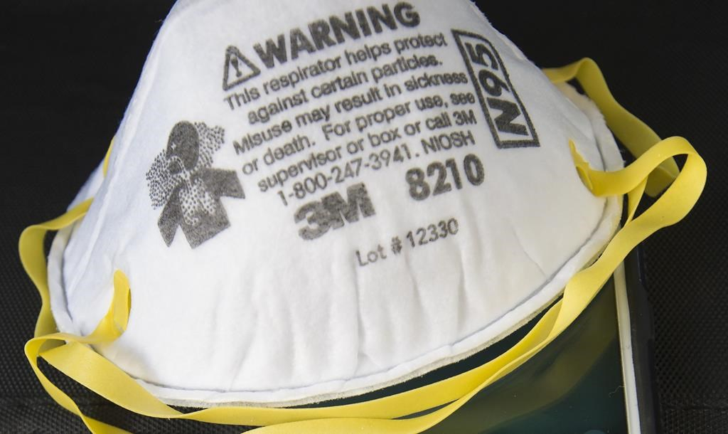 Donald Trump telling 3M to stop exporting N95 masks to Canada