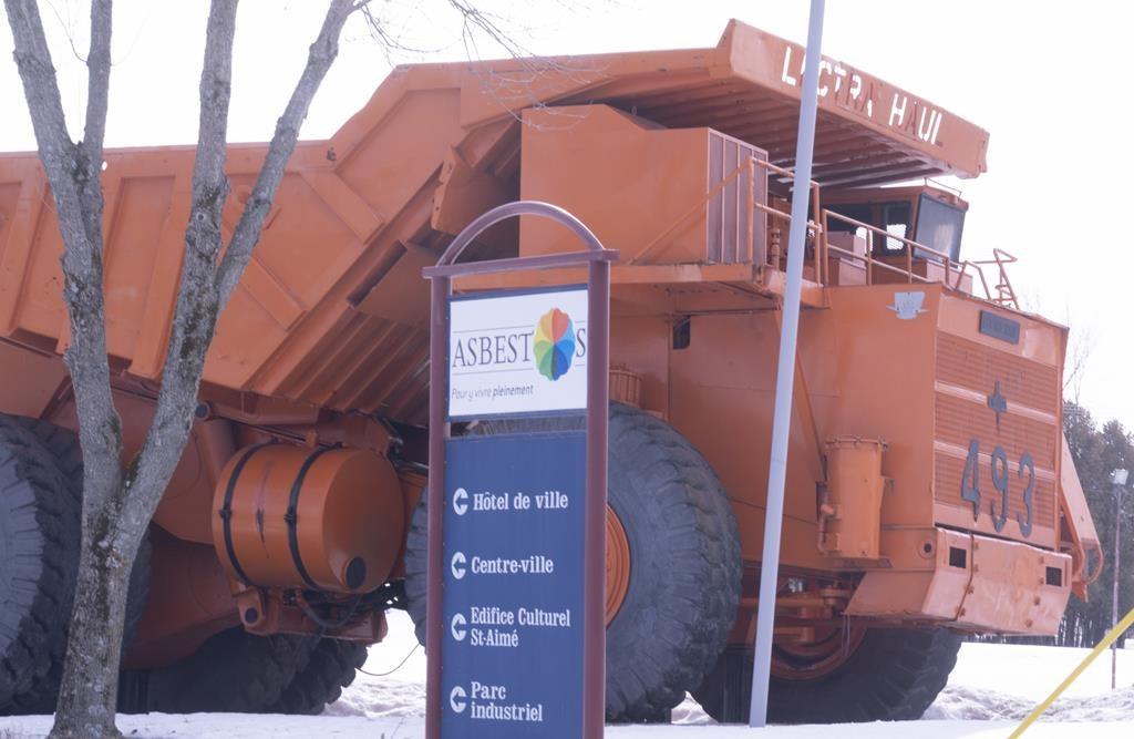 Quebec town of Abestos votes to change name