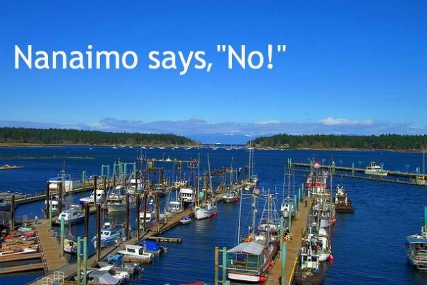 Nanaimo says,