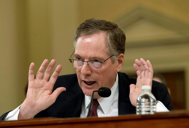 U.S. Trade Representative, Robert Lighthizer, House Ways and Means Committee,