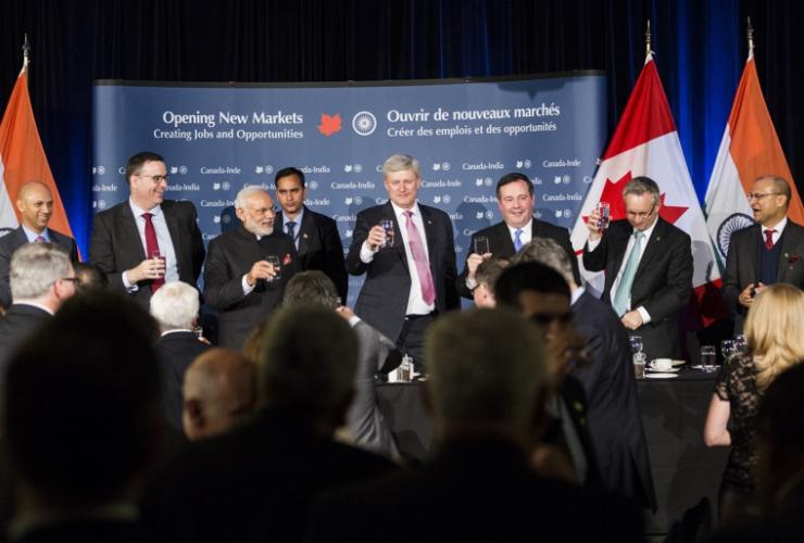Stephen Harper, Canadian politics, Narenda Modi