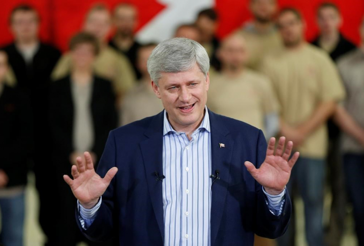 Stephen Harper Mike Duffy diary Enbridge National Observer CP photo
