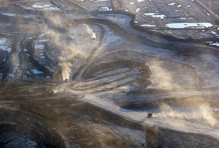 oil sands, tar sands, mine, syncrude, alberta