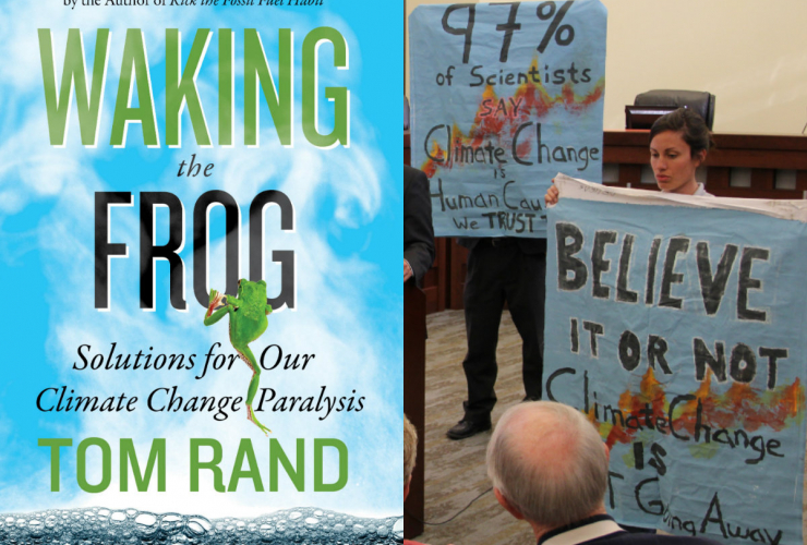 Tom Rand, Forecast the facts, greenhouse gas, climate change