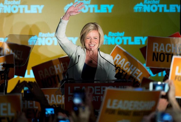 Alberta NDP Premier elect Rachel Notley