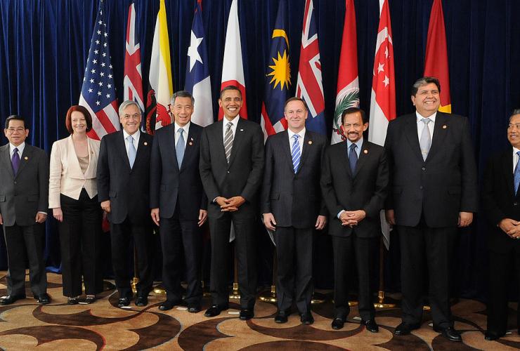 TPP, World Leaders, Canada
