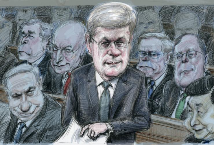 Harper, Canadian Prime Minister, worst prime minister, Netanyahu, China, Canadian politics, 2015 federal election