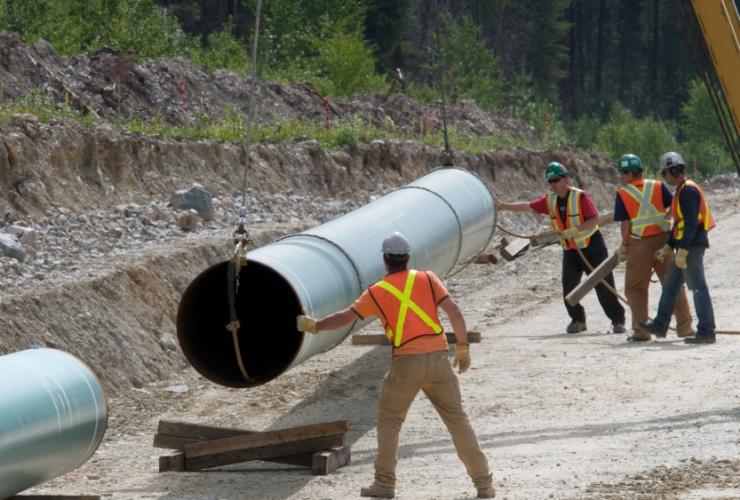 kinder morgan, trans mountain, pipeline
