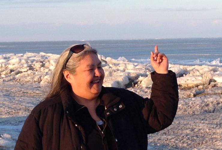 Chickadee Richard, Anishinaabe Elder and Idle No More spokeswoman