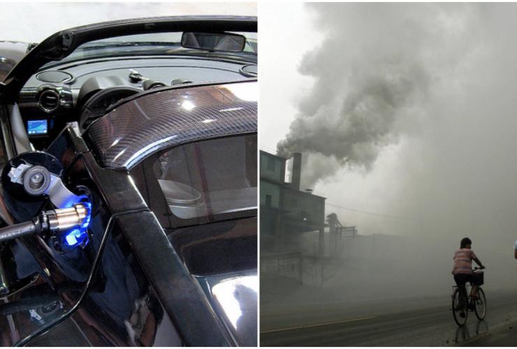 Tesla, electric car, graphite rain, climate change, sustainability, clean tech