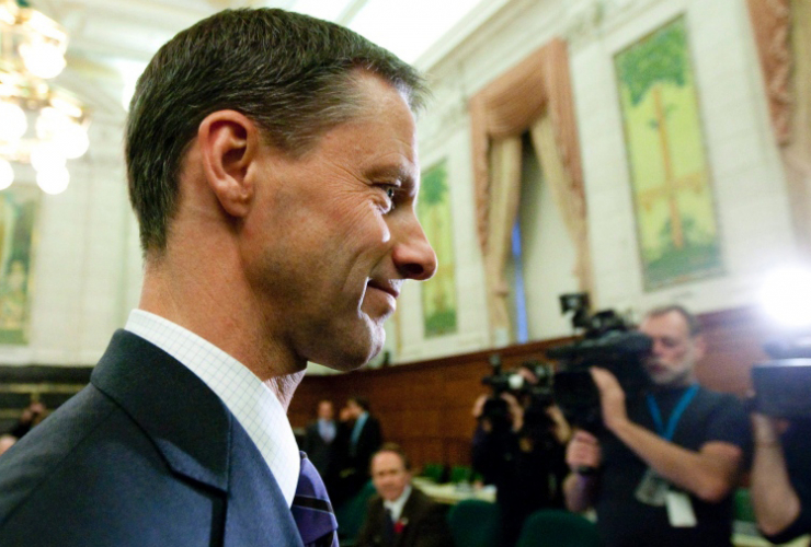 Nigel Wright, star witness at the Duffy trial Canadian Press file photo