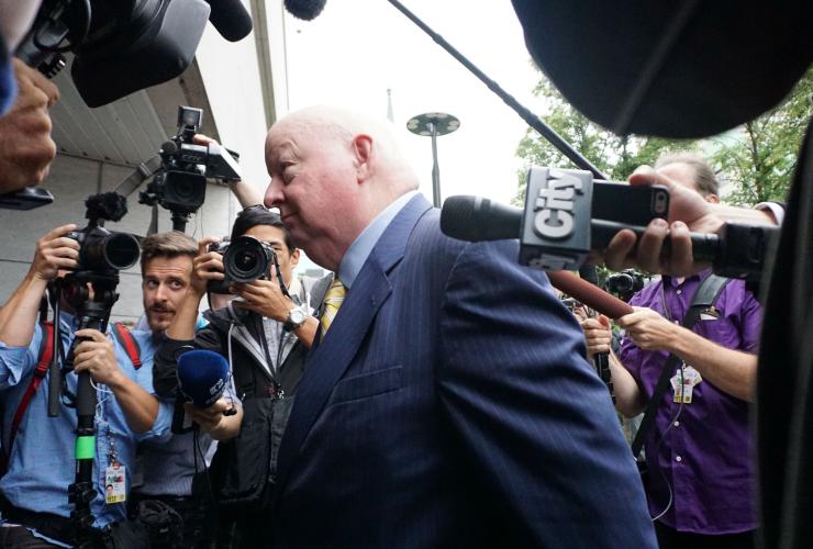 Nigel Wright, Mike Duffy trial, Senate expense scandal, witness, Ottawa courthouse
