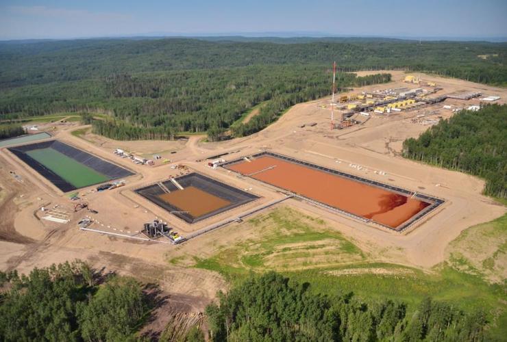 Fracking, B.C.,