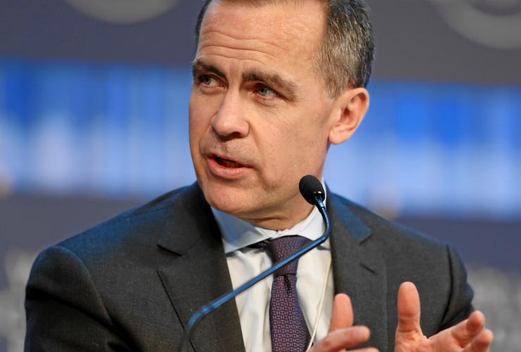 Mark Carney, Bank of England, World Economic Forum, Switzerland