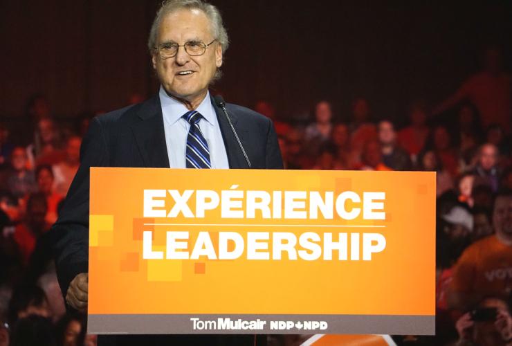 Stephen Lewis, NDP, Ontario NDP, Tom Mulcair, 2015 federal election