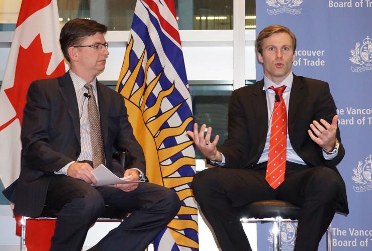 TransCanada, Energy East pipeline, New Brunswick, Premier Brian Gallant, Vancouver Board of Trade