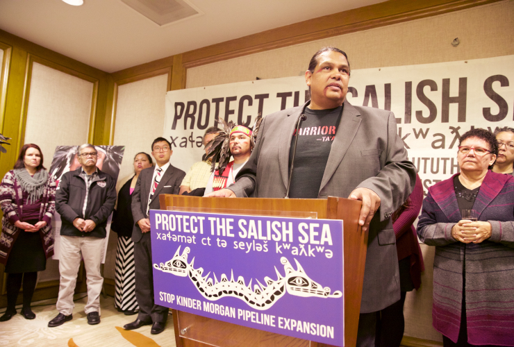 Tsleil-Waututh Nation takes NEB, Canada, Kinder Morgan to Federal Court
